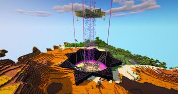 End Portal Minecraft Map & Project