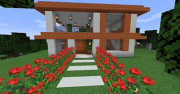 Casa Na Floresta Minecraft Map & Project