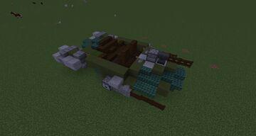 V-19 Gian Speeder Minecraft Map & Project