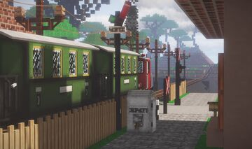 Rails of War Railway System Minecraft Map & Project