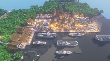 Königsberg, Republic of Prussia (WORLDWARMC) Minecraft Map & Project