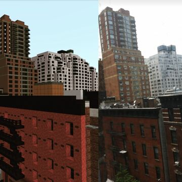 New York City 1:1 Upper East Side [BEDROCK EDITION/XBOX, Windows 10, PS4] READ BELOW Minecraft Map & Project