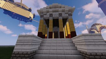 Small Roman Temple Minecraft Map & Project