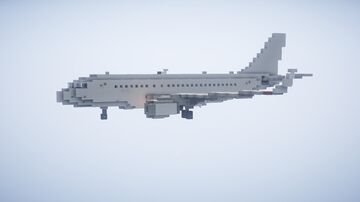 1,5:1 Airbus A319 + Liveries Minecraft Map & Project