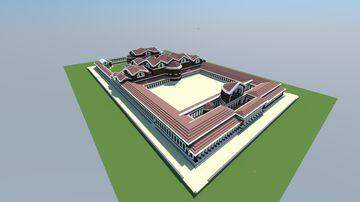 Imperial Baths of Augusta Treverorum Minecraft Map & Project
