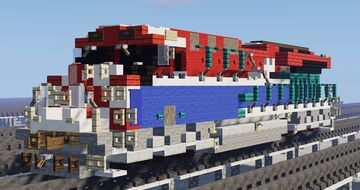 GE ET44AC (CN #3115 [BC Rail Heritage]) Minecraft Map & Project