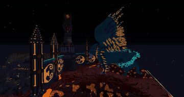 Nether Build Minecraft Map & Project
