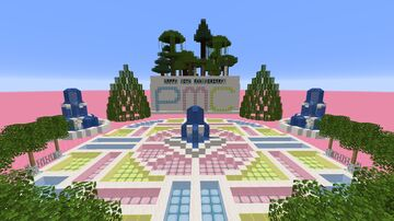 Happy 10th anniversary! Minecraft Map & Project