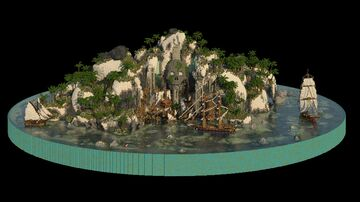 L'île de Tortugua Minecraft Map & Project