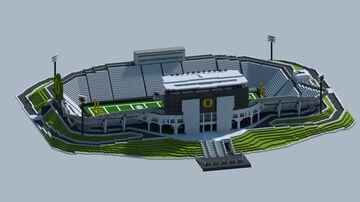 Oregon Ducks Football Stadium Minecraft Map & Project
