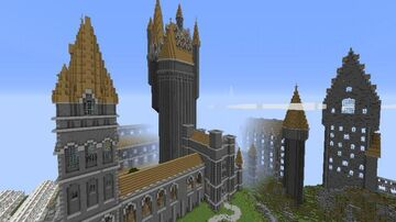 Harry potter hogwarts Alp Download Minecraft Map & Project