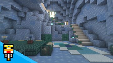 Icy Spike Palace -Event Submission- Minecraft Map & Project