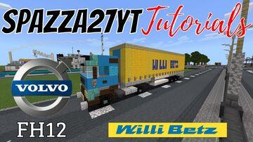 Volvo FH12 Willi Betz International Spedition Minecraft Map & Project