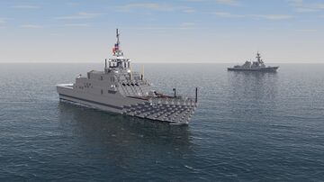 USS Sioux City [LCS-11] Freedom Class Littoral Combat Ship Minecraft Map & Project