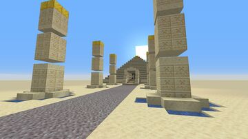 Khafra Temple 2020 Minecraft Map & Project