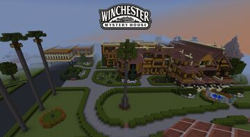 Winchester Mystery House (Update #1) Minecraft Map & Project
