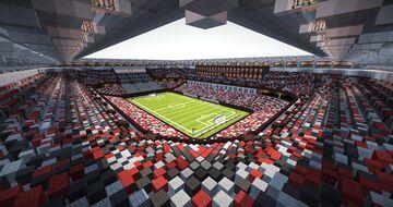 Future Football Stadium of SC Freiburg Minecraft Map & Project