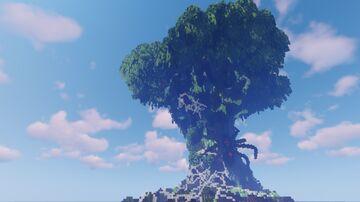 Big Tree w/ spooder Minecraft Map & Project