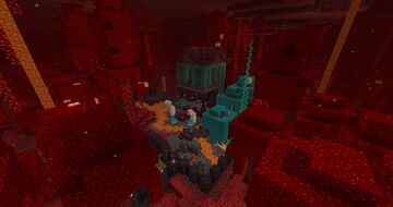 Nether Garden Minecraft Map & Project