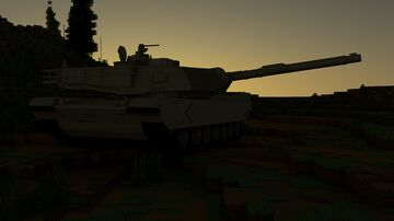 M1A2 Abrams Minecraft Map & Project