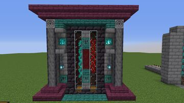 Nether Vine Survival Farm   Weeping and Twisted Vines Minecraft Map & Project