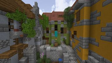 Medieval Minecraft | Italian Townhouses Minecraft Map & Project