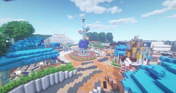 Tomorrowland (Hong Kong Disneyland) Minecraft Map & Project