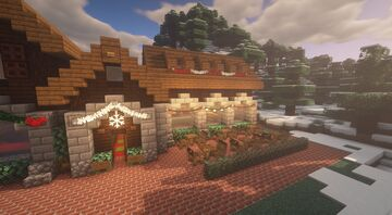 """""""The Shed"""" - Christmas Themed Restraurant Minecraft Map & Project"""