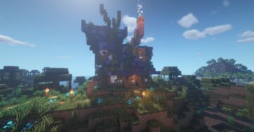Casa no Pântano | House in the Swamp Minecraft Map & Project