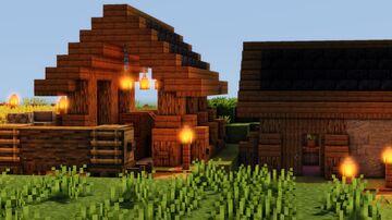 Tiny Wood Storage Minecraft Map & Project