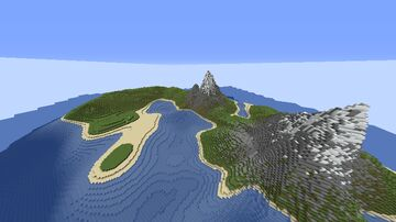 Island Minecraft Map & Project