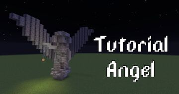Angel Statue Minecraft Map & Project