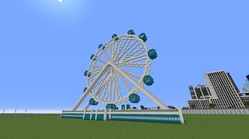 Ferris Wheel [WIP] Minecraft Map & Project