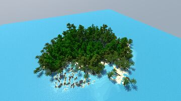 Tropical Island [Download] Minecraft Map & Project