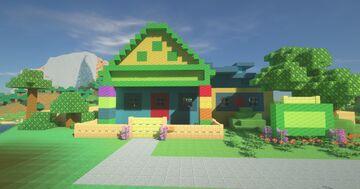 Melon Patch Academy preschool Minecraft Map & Project