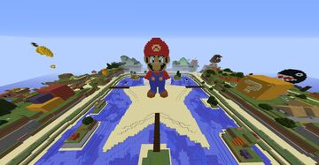 Super Mario Mashup Pack Port Minecraft Map & Project