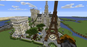 France (In progress) Minecraft Map & Project