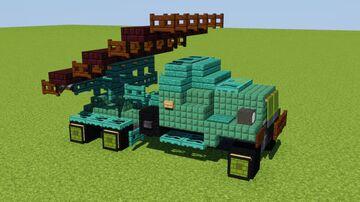Katyusha Multiple Rocket Launcher Minecraft Map & Project