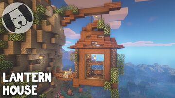 Lantern house Minecraft Map & Project