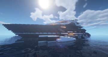 STORMVIND - A Modern Superyacht WoK (Showcased by Keralis & Andyisyoda) Minecraft Map & Project