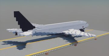 Boeing 777-200lr Air Canada [1:1] Minecraft Map & Project