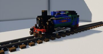 SR USA class 0-6-0t Minecraft Map & Project