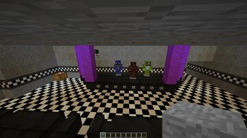 Fnaf 1 [W.I.P] Minecraft Map & Project