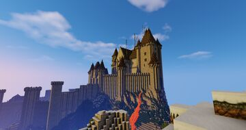 Medieval Citadel - The High Castle Minecraft Map & Project