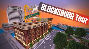 Minecraft Blocksburg - Realistic Massive city World Minecraft Map & Project
