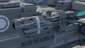 [Oscdea] Nirganta Class Corvette Minecraft Map & Project