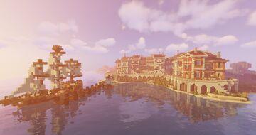 Hangamau Bay Minecraft Map & Project