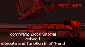 command block tutorial ep1 by REDCUBER Minecraft Map & Project