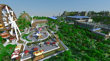 Seacliff SG, a 24 Player Hunger Games/Survival Games Map Created By Berserker Minecraft Map & Project
