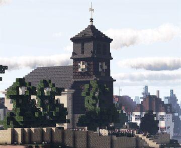 Thomaskirche, Oberzwehren, Kassel, Hesse, Germany Minecraft Map & Project